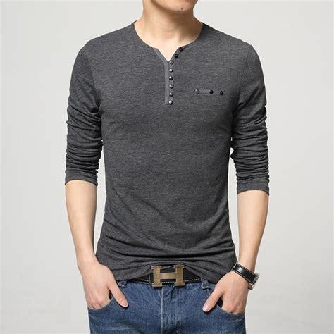 get cheap v neck cotton t shirts aliexpress
