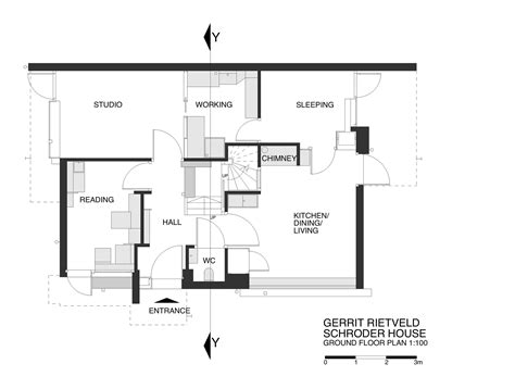 Schroder House Plans Gallery Of Ad Classics Rietveld Schroder House Gerrit Rietveld 27