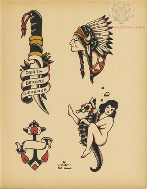 old school tattoo flash school tattoos ideas