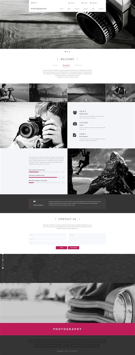 drupal themes photography photographer drupal template