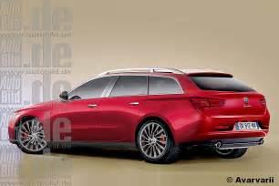 Alfa Romeo Estate 2016 Alfa Romeo Giulia Rendering
