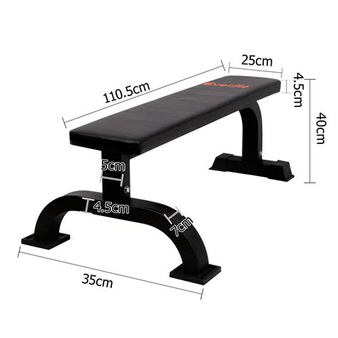 fitness flat bench fitness flat weight bench black