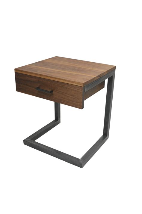 C End Table by C Table Nightstand Side Table Bedside Table End Table