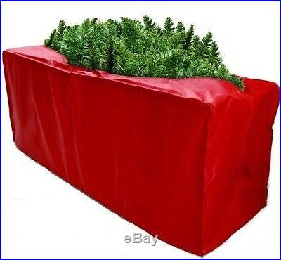 new christmas tree storage bag cover red 48x15x20 xmas