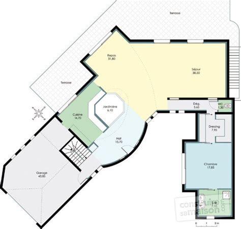 Plan D Architecte De Maison by Maison D Architecte 2 D 233 Du Plan De Maison D
