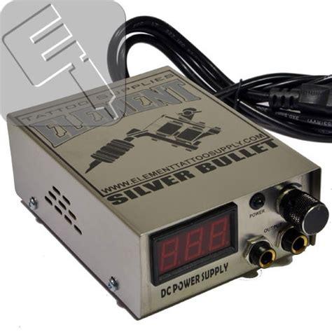 tattoo kits element element silver bullet 10 turn power supply