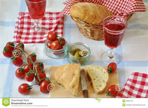 Italian Table by Table Setting For Italian Dinner Stock Image Image 30637751
