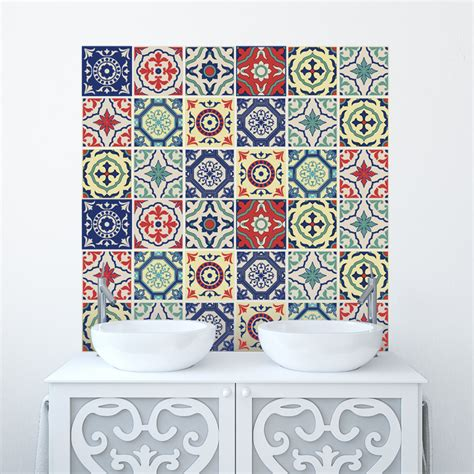 bathroom tile stickers uk traditional tile stickers transfers for kitchen bathroom and
