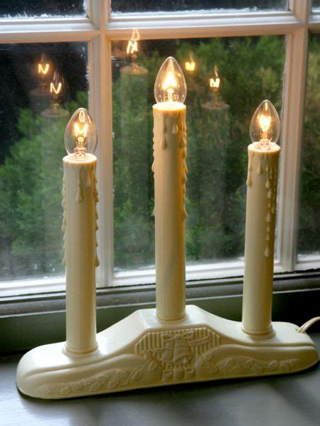 Electric Candles For Windows Decor Window Candles Lights In 3 And 5 Tiers