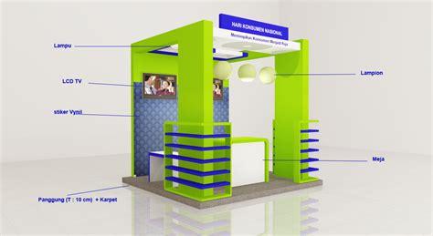 cara desain booth pameran booth pameran 3 x 3 m khoirul booth