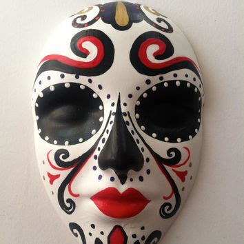 Skull Decorations For The Home by Shop Mexican Masks On Wanelo