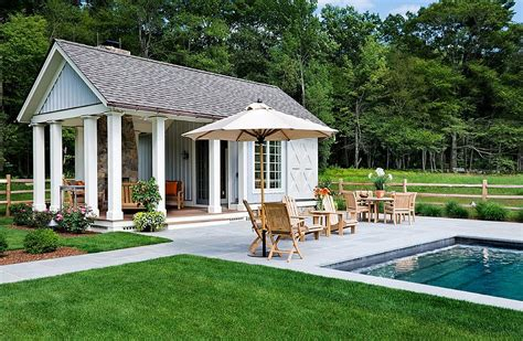 home plans with pool 25 pool houses to complete your backyard retreat