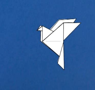 origami peace dove instructions tavins origami