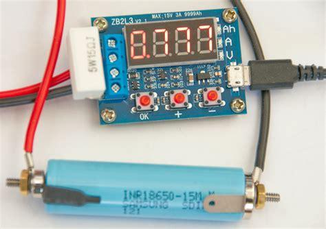 Zhiyu Battery Capacity Meter Discharge Tester 1 5v 12v For 18650 T301 2 battery testers