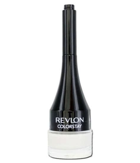 Eyeliner Gel Revlon revlon colorstay creme gel eyeliner pencil eyeliner white 0 08 fl oz buy revlon colorstay creme