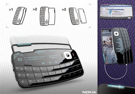 Concept Design Nokia | nokia envelop concept delivers old school sharing wired