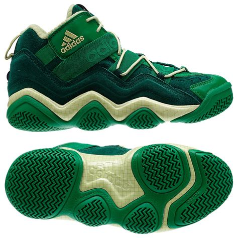 adidas basketball shoes 2000 adidas top ten 2000 basketball shoes green forest