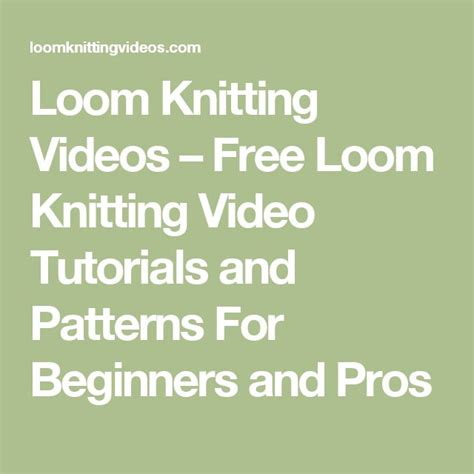 loom knitting patterns for beginners free 378 best images about loom knitting on