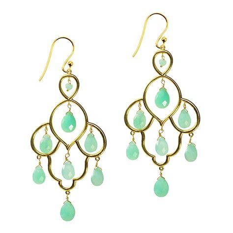 Layla Earrings layla chandelier earrings chrysoprase