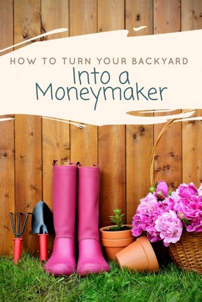 How To Turn Your Backyard Into A by How To Turn Your Backyard Into A Moneymaker