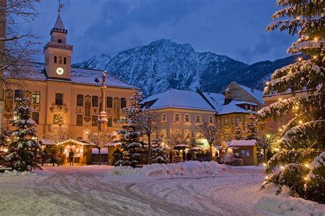 imagenes de invierno en alemania photo germany bad reichenhall spruce winter snow night