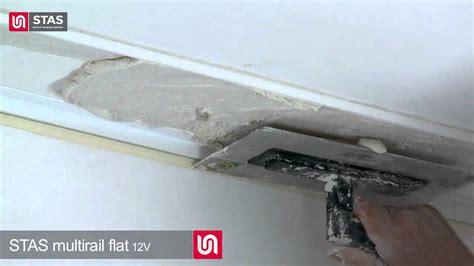 l ophangen aan schuin plafond stas multirail flat het ophangsysteem met verlichting