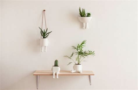 hanging wall planters indoor 30 unique hanging planters to help you go green
