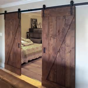 Cheap Wooden Bed Frames Home Dzine Home Diy Diy Barn Style Sliding Door
