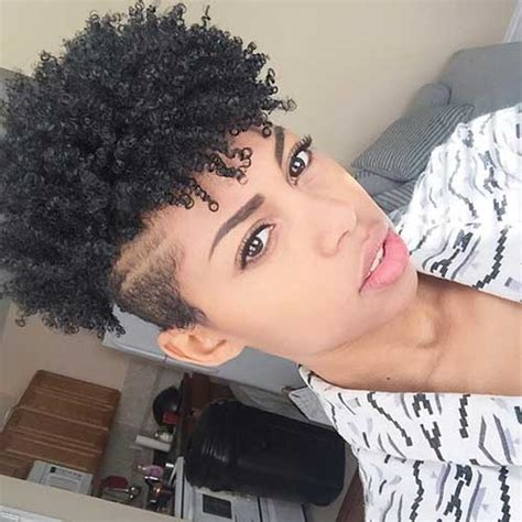 kinky coily hairstyles with tapered sides and back 20 short curly afro hairstyles short hairstyles