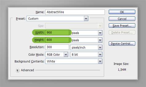 membuat efek abstrak dengan photoshop cara membuat teks efek wireframe abstrak dengan photoshop