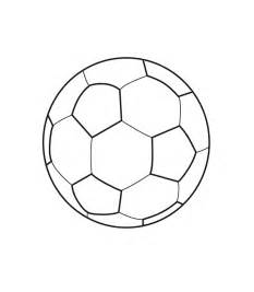 coloring soccer ball