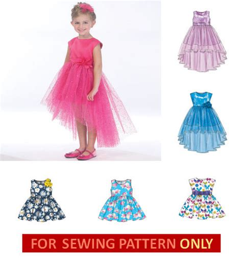 sewing pattern offers sewing pattern make fancy dress flower girl child 2 5 or