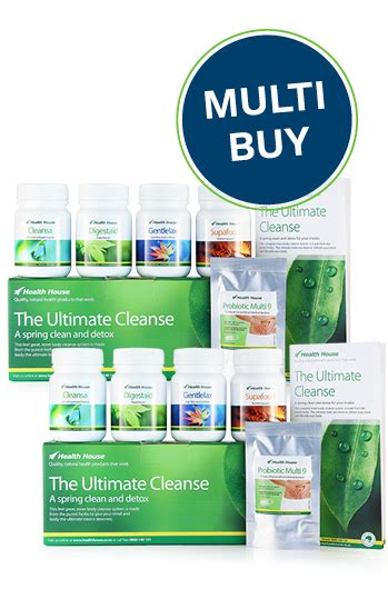 Detox Kit For Nz by Health House Quality Health Products That Work