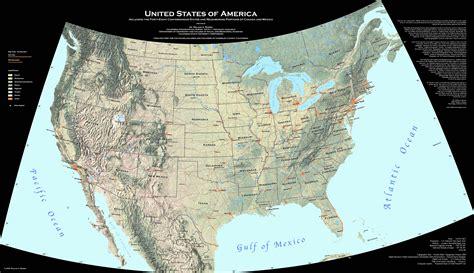 satellite map united states united states map and united states satellite image