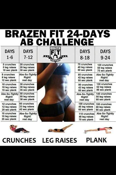 24 ab challenge 24 day ab challenge fitness