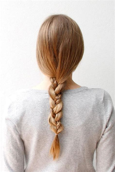 easy hairstyles using plaits wear this hair a simple braided beauty more com