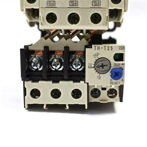 Mistubishi Th T25 18 26 mitsubishi contactor s t25 3a2a2b coil 200v 240v relay th t25 18 26a ebay