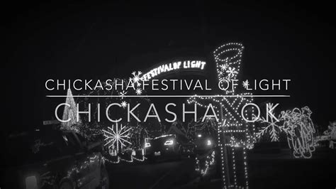 chickasha lights 2017 hmg present chickasha festivals of lights 2017