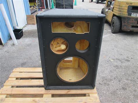 Box Speaker Jbl jbl 15 quot subwoofer sub 9 quot speaker enclosure box 35x25x17