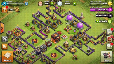 coc mod game for android clash of clan mod coc mod apk 2016 th 11 coc sl v4