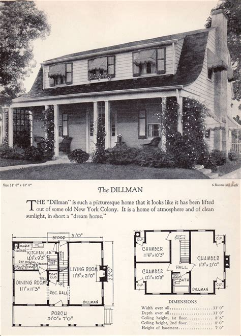 dutch colonial revival  covered porch