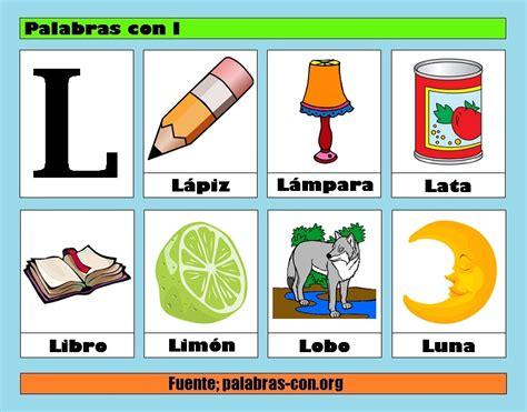 imagenes que comiencen con la letra l palabras con la letra l l ejemplos de palabras con l