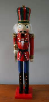 32 quot wooden christmas nutcracker soldier decoration ebay