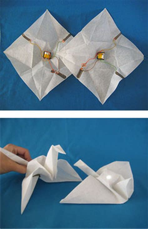 Science Origami - origami science origami like techniques used in advanced
