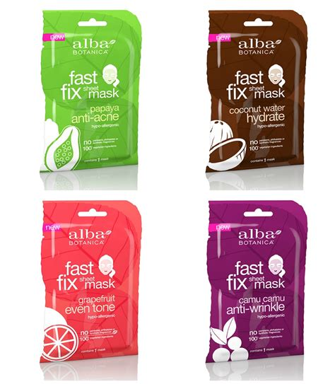 Alba Hawaiian Detox Sheet Mask by Alba Botanica Fast Fix Sheet Mask Dublin Nutri Centre