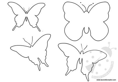 fiori e farfalle da colorare sagome farfalle da stare lavoretti creativi