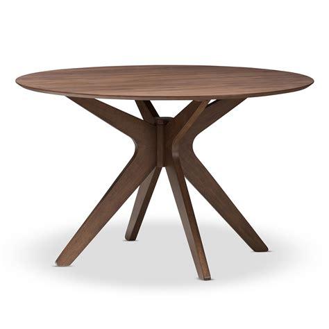 Walnut Wood Dining Table Walnut Wood Dining Table Modern Furniture Brickell Collection