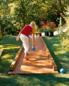 diy backyard bowling alley 50 outdoor to diy this summer brit co