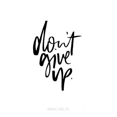 Dont Up The don t give up the project