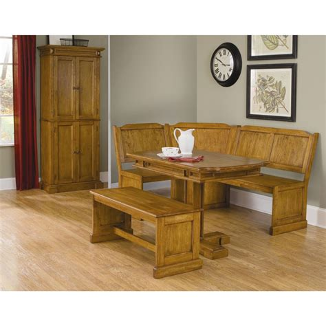 corner kitchen table and bench set corner nook dining sets rustic style oak kitchen tables